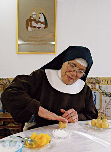 A Nun Eats Out of Turn on a Fast Day